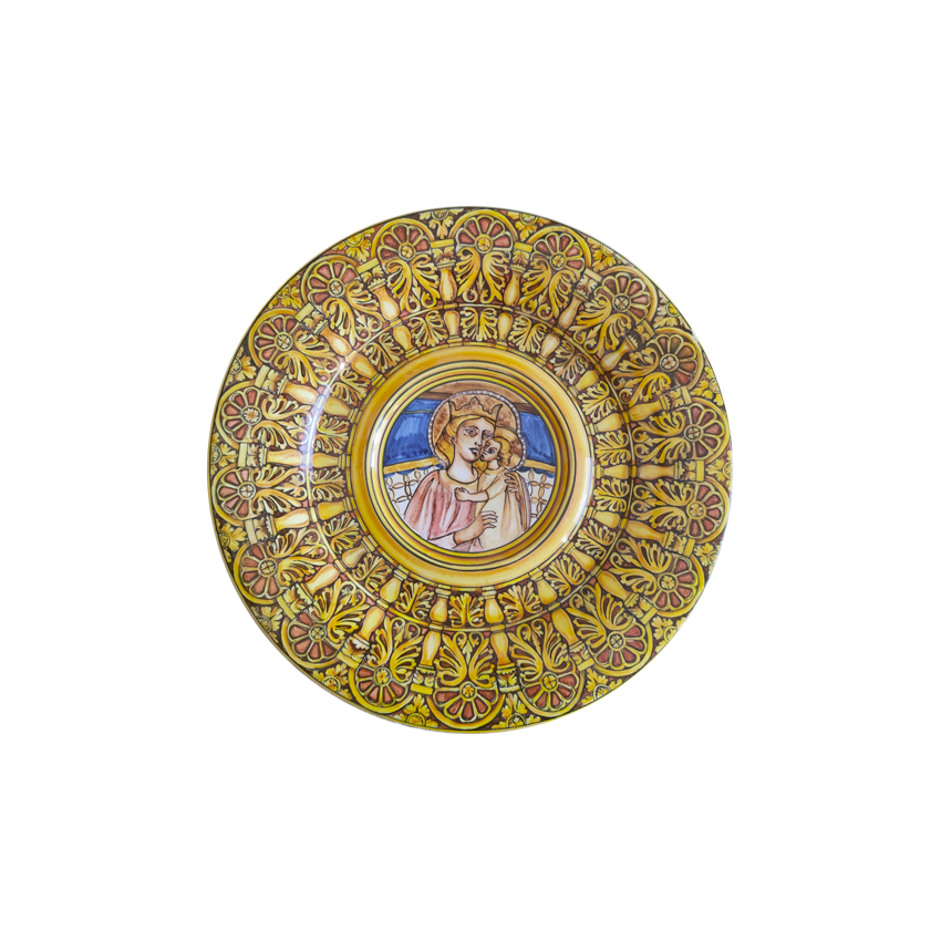 Rose window Plate