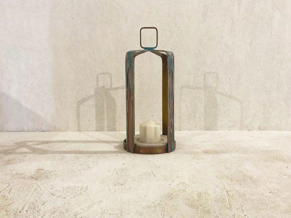 patina lantern
